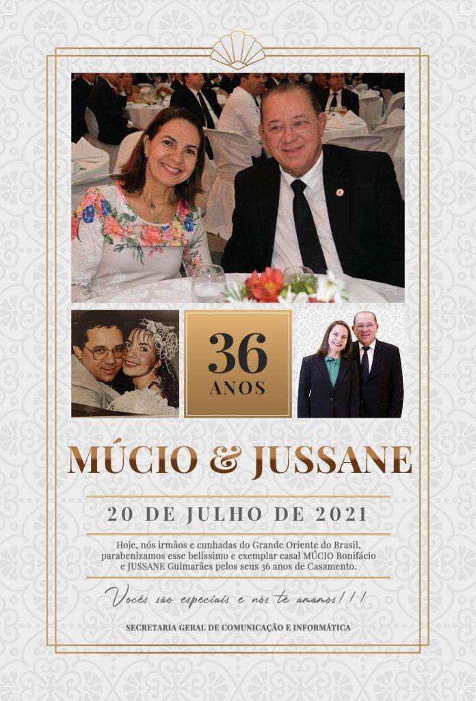 Múcio e Jussane
